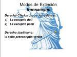 modos de extinci n transacci n1