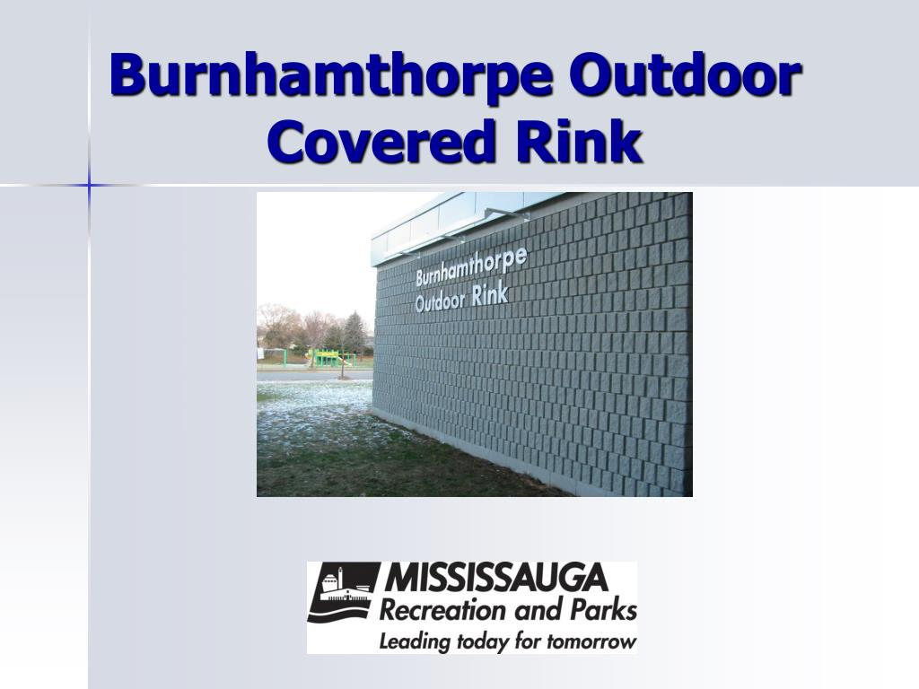 burnhamthorpe outdoor covered rink l.