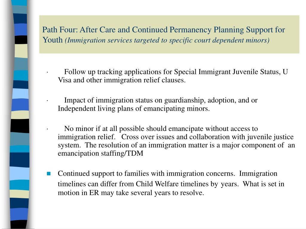 Path Four: After Care and Continued Permanency Planning Support for Youth