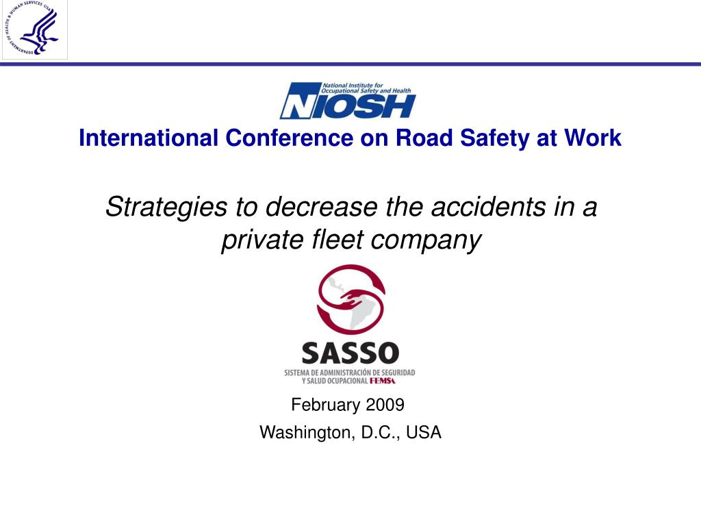 international conference on road safety at work l.