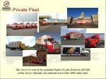 private fleet