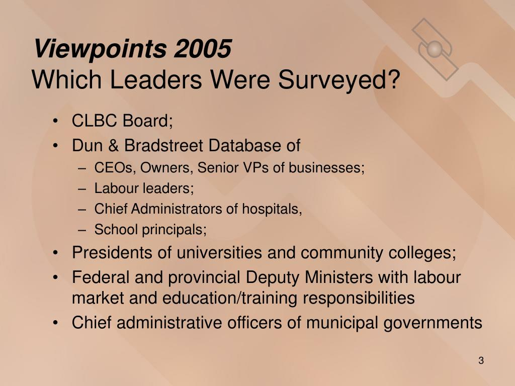 Viewpoints 2005