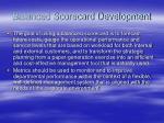 balanced scorecard development