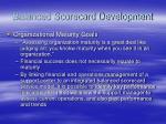 balanced scorecard development48