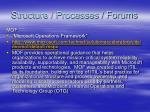 structure processes forums33