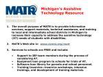 michigan s assistive technology resource