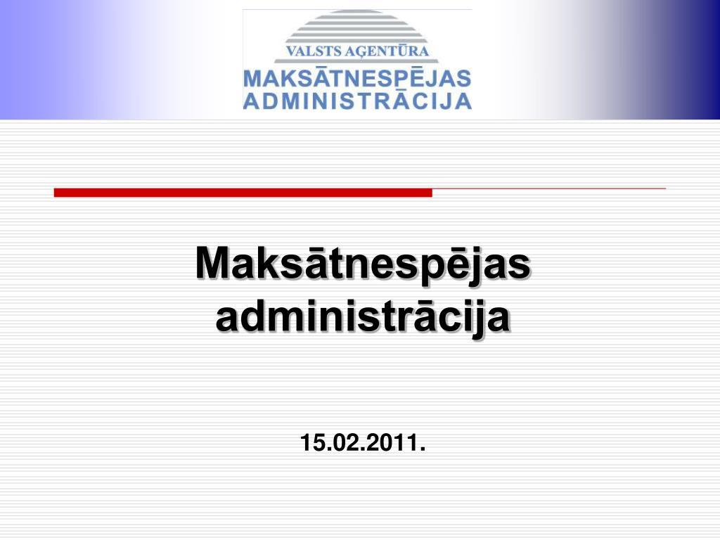 maks tnesp jas administr cija 15 02 2011 l.