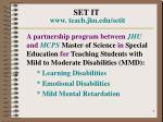set it www teach jhu edu setit