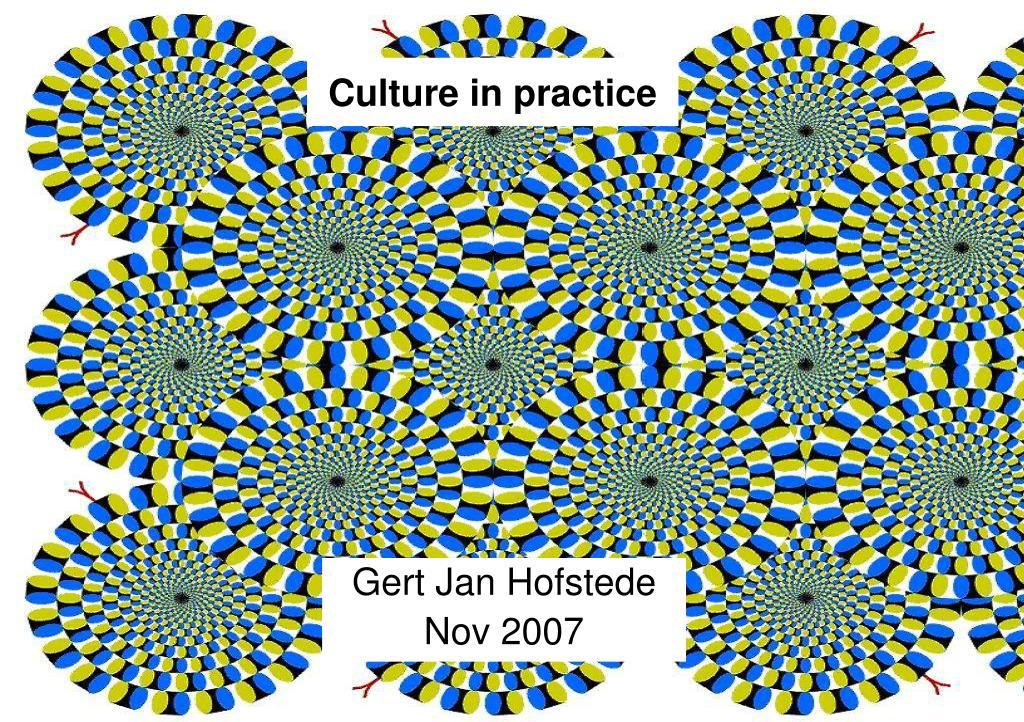 culture in practice l.