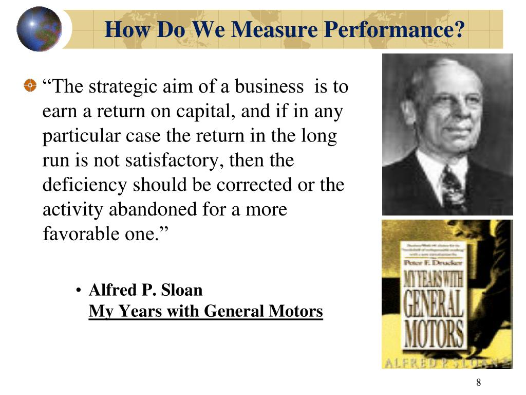 How Do We Measure Performance?