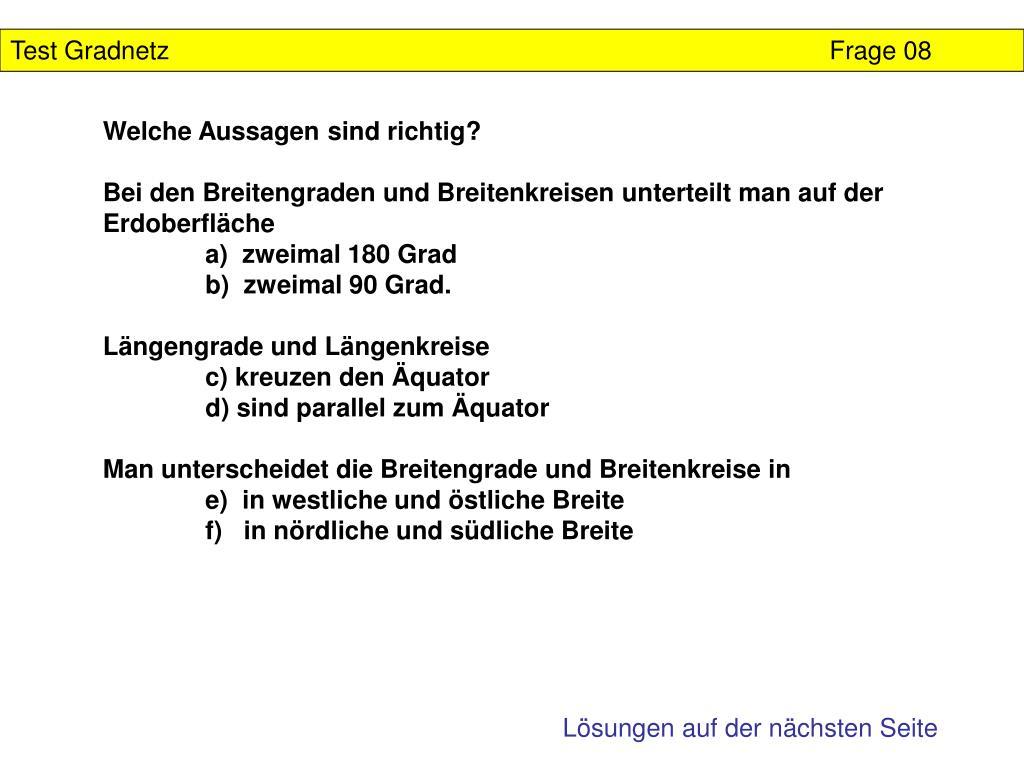 Test GradnetzFrage 08