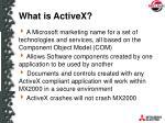 what is activex