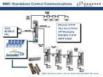 mmc standalone control communications