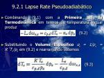 9 2 1 lapse rate pseudoadiab tico15