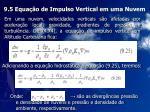 9 5 equa o de impulso vertical em uma nuvem
