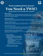 want continued port access you need a twic transportation worker identification credential