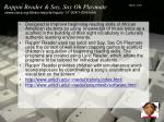rappin reader say say oh playmate www ciera org library reports inquiry 1 1 004 1 004 html