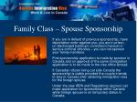 family class spouse sponsorship10