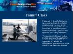 family class8