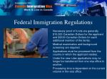 federal immigration regulations14