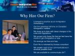 why hire our firm