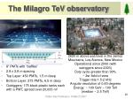 the milagro tev observatory