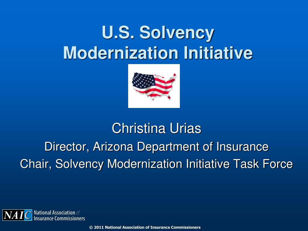 u s solvency modernization initiative l.