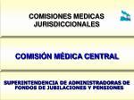 comisiones medicas jurisdiccionales