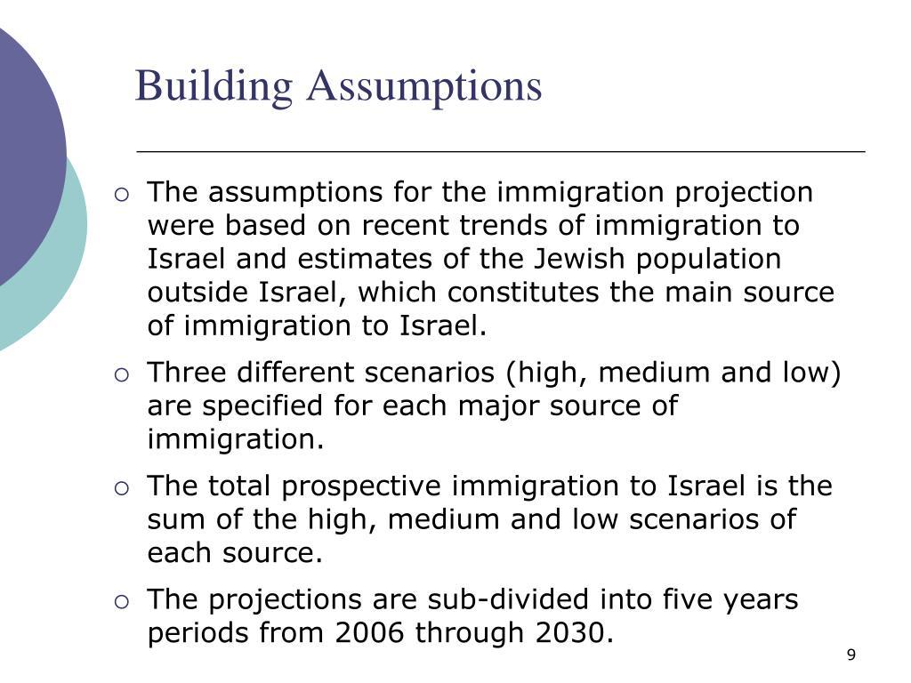 Building Assumptions