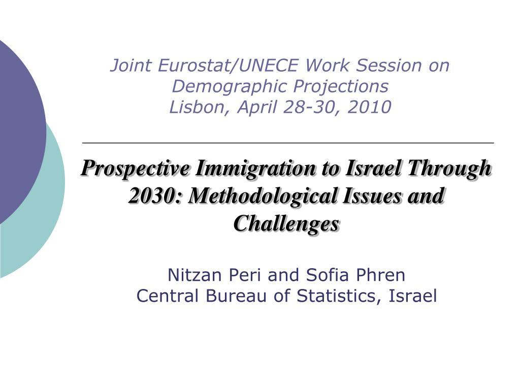 joint eurostat unece work session on demographic projections lisbon april 28 30 2010 l.