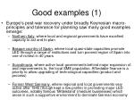 good examples 1