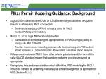pm 2 5 permit modeling guidance background