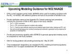 upcoming modeling guidance for no2 naaqs