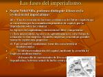las fases del imperialismo