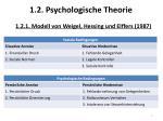 1 2 psychologische theorie