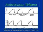 assist regelung volumen