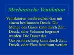 mechanische ventilation16