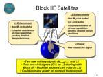 block iif satellites