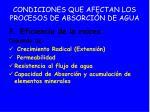 condiciones que afectan los procesos de absorci n de agua29