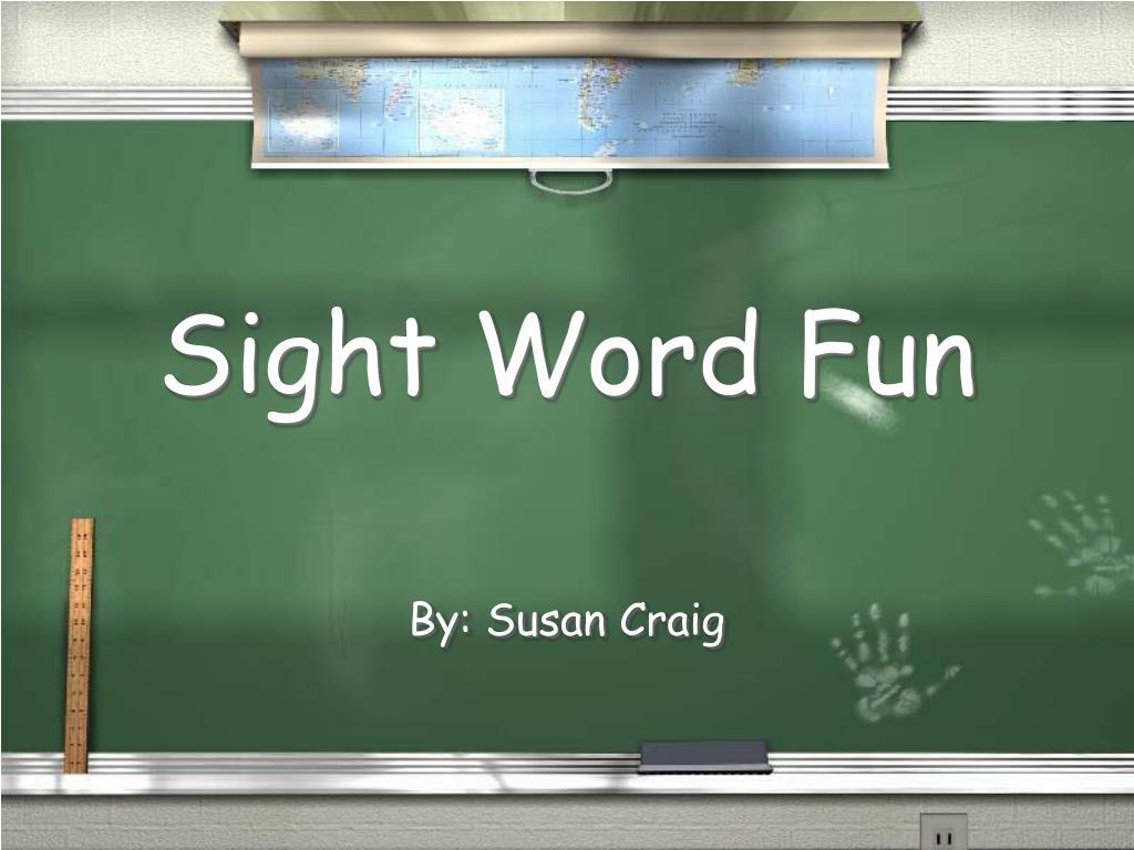 sight word fun l.