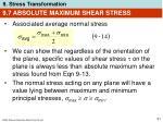 9 7 absolute maximum shear stress51