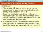 9 7 absolute maximum shear stress54