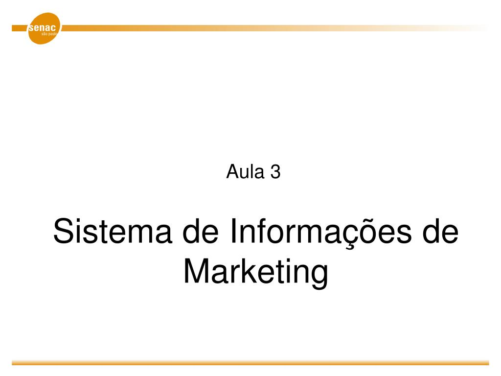 sistema de informa es de marketing l.