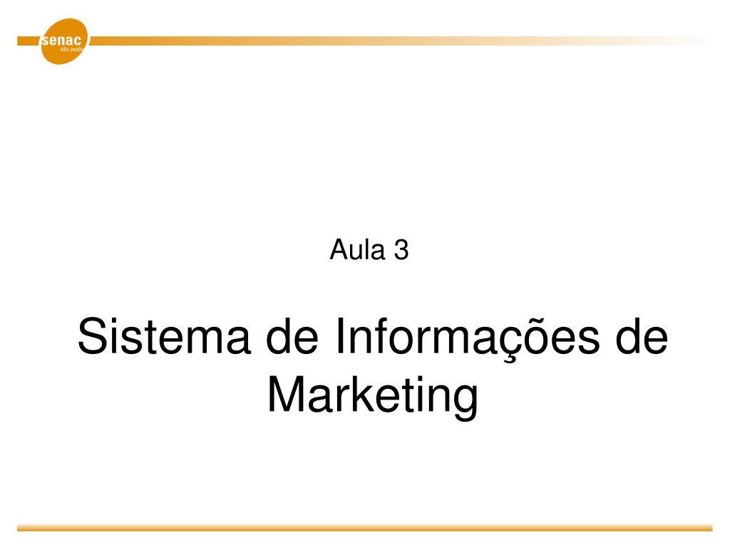 sistema de informa es de marketing l.