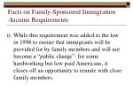 facts on family sponsored immigration income requirements30