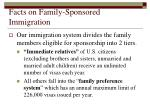 facts on family sponsored immigration23