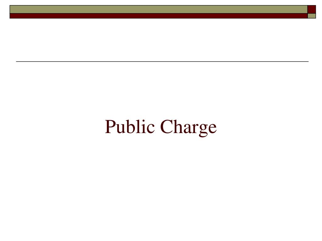 Public Charge