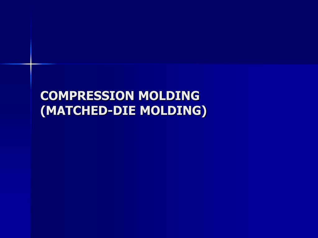 compression molding matched die molding l.