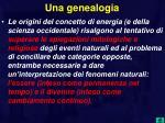 una genealogia
