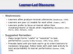 learner led discourse5